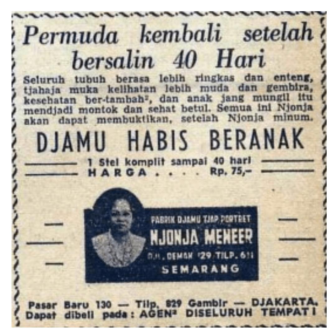 Njonja Meneer, Ikon Jamu Tradisional Indonesia